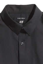 2-pack easy-iron shirts - Black - Men | H&M CN 4