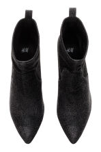 Glittery ankle boots - Black - Ladies | H&M CN 3