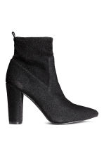 Glittery ankle boots - Black - Ladies | H&M CN 2