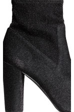 Glittery ankle boots - Black - Ladies | H&M CN 5