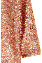 Sequined top - Bronze -  | H&M CN 4