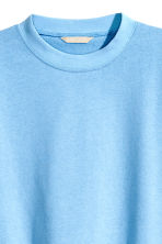 Wide sweatshirt - Light blue - Ladies | H&M CN 4