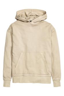 Hooded top
