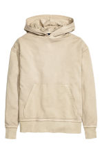 Hooded top - Beige - Men | H&M 2