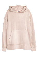 Hooded top - Light pink - Men | H&M 2