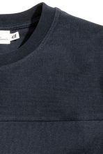 Sweatshirt - Dark blue - Men | H&M CN 3