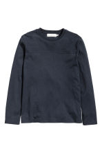 Sweatshirt - Dark blue - Men | H&M CN 2