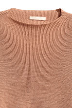 Ribbed jumper - Camel - Ladies | H&M CN 3
