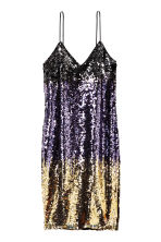 Abito con paillettes - Viola/dorato - DONNA | H&M IT 2