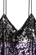 Abito con paillettes - Viola/dorato - DONNA | H&M IT 3