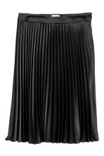 H&M+ Pleated skirt - Black - Ladies | H&M CA 2