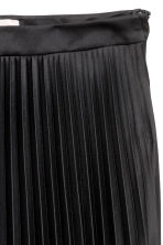 H&M+ Pleated skirt - Black - Ladies | H&M CA 3
