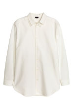 Oversized shirt - White - Men | H&M CN 1