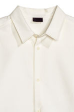 Oversized shirt - White - Men | H&M CN 2