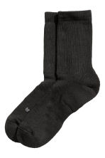 3-pack sports socks - Black - Men | H&M CN 3