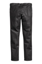 Slim Low Coated Jeans - Black - Men | H&M CN 3