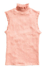 Polo-neck top - Apricot - Ladies | H&M CN 2