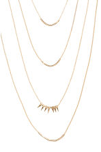 Multistrand necklace - Gold - Ladies | H&M CN 2