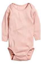 Bodysuit and trousers - Powder pink - Kids | H&M CN 3