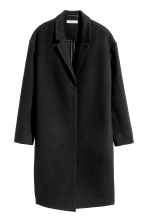 Cashmere-blend coat - Black - Ladies | H&M CN 2