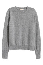 Cashmere jumper - Grey - Ladies | H&M 2