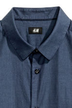 Shirt Slim fit - Dark blue - Men | H&M CN 3