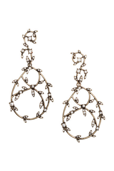 Long earrings - Gold - Ladies | H&M CN 1