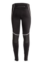 Winter running tights - Black - Men | H&M CN 3