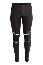 Winter running tights - Black - Men | H&M CN 2
