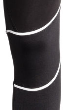 Winter running tights - Black - Men | H&M CN 4