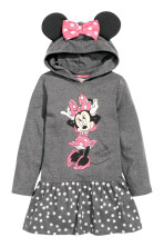 Dark grey/Minnie Mouse