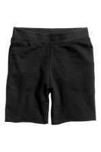 Shorts corti in felpa - Nero - UOMO | H&M IT 2