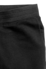 Shorts corti in felpa - Nero - UOMO | H&M IT 3