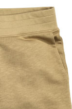Short sweatshirt shorts - Khaki - Men | H&M CN 3