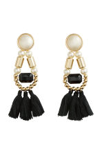 Earrings with tassels - Gold - Ladies | H&M GB 1