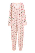 All-in-one pyjamas - Pink/Unicorn - Ladies | H&M CN 2