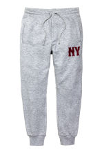 Joggers - Grey/New York - Men | H&M CN 2
