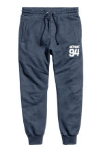 Joggers - Dark blue/Detroit - Men | H&M CN 2