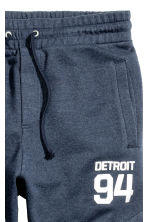 Joggers - Dark blue/Detroit - Men | H&M CN 3