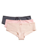 3-pack hipster briefs - Powder pink - Ladies | H&M CN 2