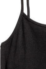 Strappy slip dress - Black - Ladies | H&M CN 2