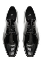 Patent Derby shoes - Black - Men | H&M CN 2