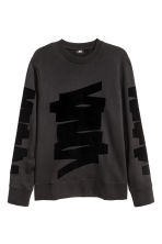 Sweatshirt - Black/Print - Men | H&M CN 2