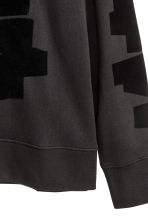 Sweatshirt - Black/Print - Men | H&M CN 3