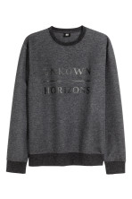 Dark grey marl/Text