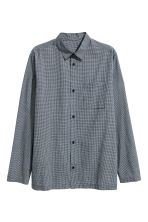 Pyjamas - Dark blue/Small checked - Men | H&M CN 3