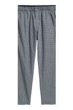 Pyjamas - Dark blue/Small checked - Men | H&M CN 4