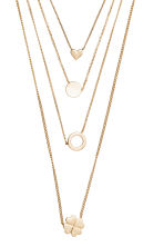 Multistrand necklace - Gold - Ladies | H&M 2