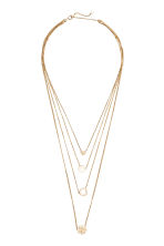 Multistrand necklace - Gold - Ladies | H&M 1