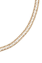 Necklace with sparkly stones - Gold - Ladies | H&M CN 2